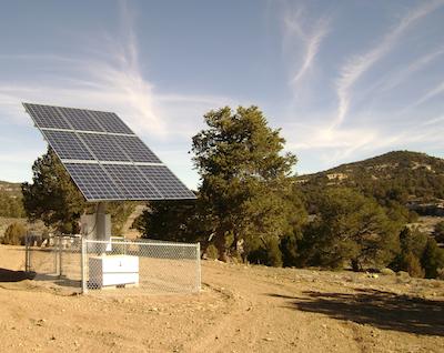 2.3 kW Off-Grid Solar, Black Mesa